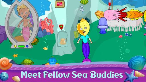 My Tizi Town - Underwater Mermaid Games for Kids 1.0 Screenshots 7
