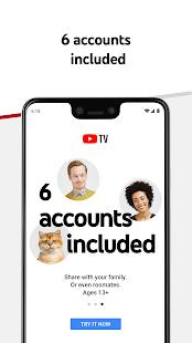 YouTube TV: Live TV & more screenshots 5