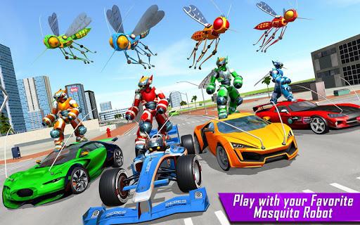 Mosquito Robot Car Game - Transforming Robot Games 1.0.8 screenshots 17