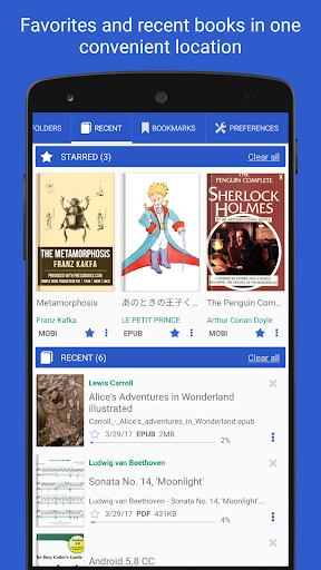 PDF Reader - for all docs and books  screenshots 3