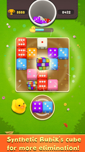 Greedy Dice - Dom Merge Puzzle Games Latest screenshots 1