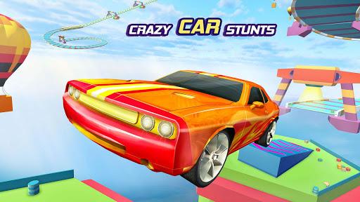 Sports Car Crazy Stunts 2020- Mega Ramp Car Games 4.3 screenshots 1