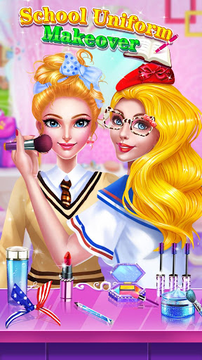 🏫💄School Uniform Makeover  screenshots 1