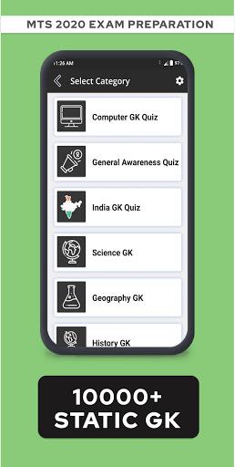 SSC MTS & DRDO MTS Exam Preparation App - screenshots 2