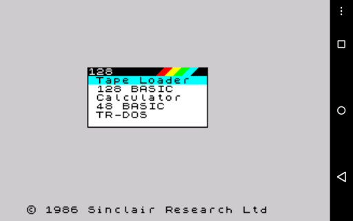 USP - ZX Spectrum Emulator screenshots 7