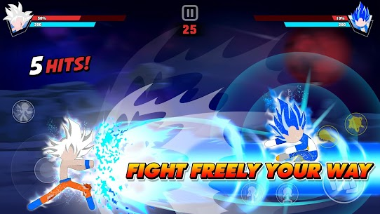 Stickman Battle Fight: Legendary Dragon Warrior 2.0 1