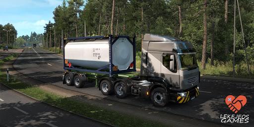 Euro Truck Driver Simulator : Lorry Trip 2020 1.1.7 screenshots 9