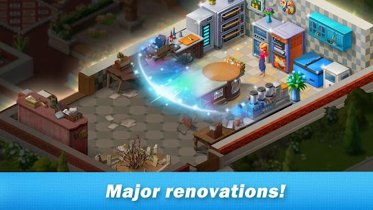 Restaurant Renovation 2.5.4 MOD APK [UNLIMITED MONEY] 2