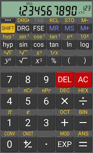 RealCalc Scientific Calculator ss1