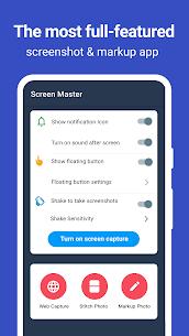 Screen Master Mod Apk: Screenshot & Longshot (Premium Unlocked) 1