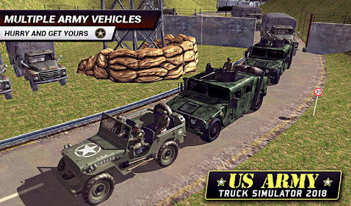 US Army Truck Driving 2018: Real Military Truck 3D apkpoly screenshots 16