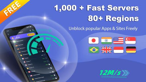 Free VPN Master - Unlimited Ultra Fast WiFi Proxy  screenshots 7