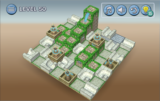 Flow Water Fountain 3D Puzzle 1.2 Screenshots 14