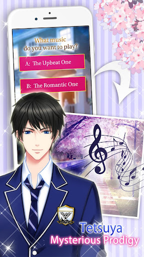 Code Triche Otome Game - High School Love (Astuce) APK MOD screenshots 5