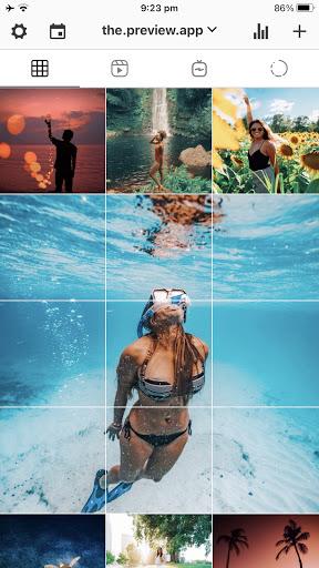 Preview - Plan your Instagram apktram screenshots 1