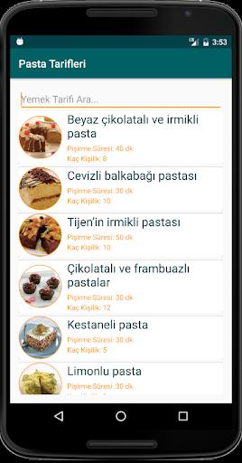 İnternetsiz Pasta Tarifleri  screenshots 3