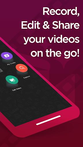 Vizmato – Video Editor & Slideshow maker! screen 1