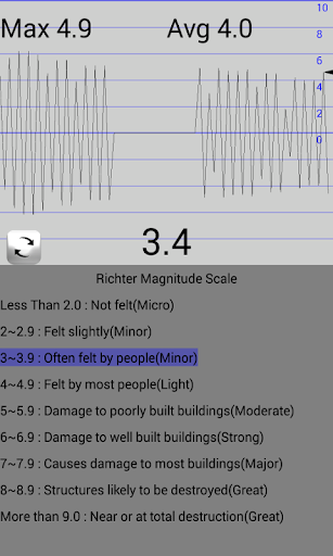 seismometer screenshot 3