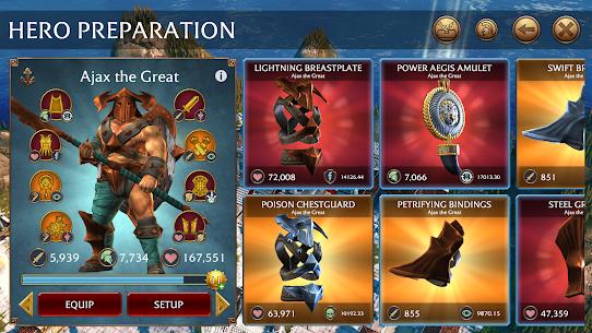 Olympus Rising: Hero Defense & Joc de Strategie 5