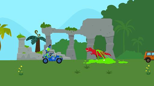 Dinosaur Guard - Jurassic! Driving Games for kids  screenshots 14