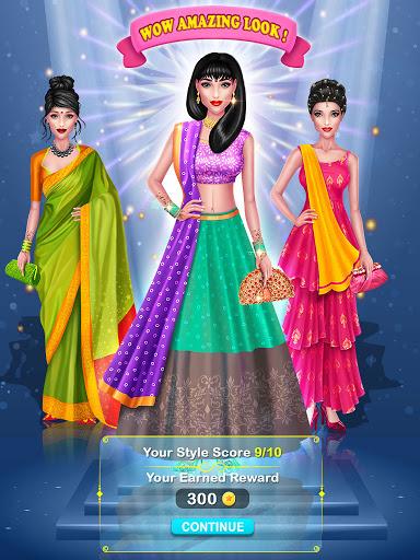 Wedding Fashion Stylist: Indian Dress up & Makeup 1.0 screenshots 2