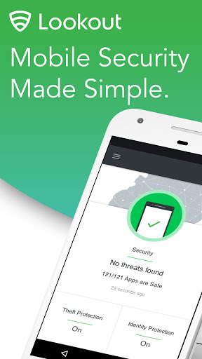 Mobile Security, Antivirus & Cleaner by Lookout  screen 0