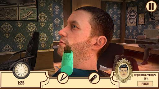 Barber Shop Hair Cut Salon- Hair Cutting Game 2020 1.0.5 Screenshots 4