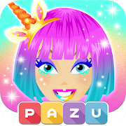 Makeup Girls - Unicorn dress up games for kids