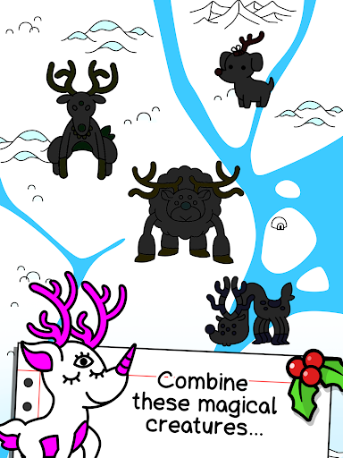 Reindeer Evolution - Mutant Christmas Monsters android2mod screenshots 11