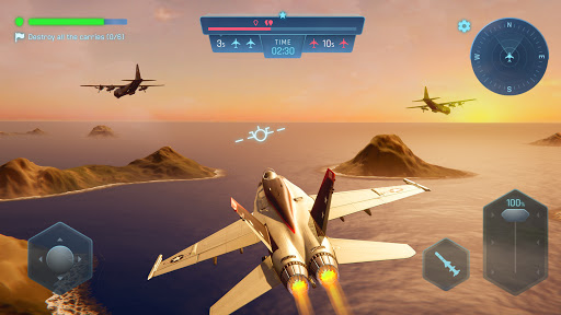 Sky Warriors: Airplane Combat  screenshots 1
