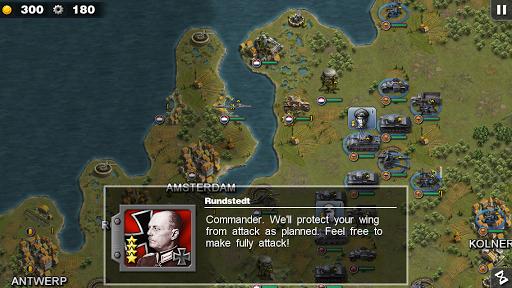 Glory of Generals-WW2 frontline War Strategy Game 1.2.12 Screenshots 1