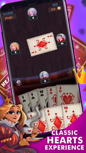 Hearts - Free Card Games 2.5.4 screenshots 1