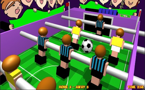 Table Football, Soccer 3D Screenshot