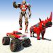 Rhino Robot Monster Truck Games: War Robot Games