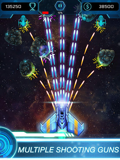 Galaxy Attack Space Shooter: Spaceship Games 1.4 screenshots 7