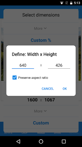 Photo & Picture Resizer: Resize, Downsize, Adjust 1.0.289 Screenshots 4