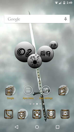 SilverGold 3D Icon CM&Launcher For PC Windows (7, 8, 10, 10X) & Mac Computer Image Number- 5
