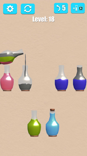 Water Sort: Liquid Puzzle 3D apkdebit screenshots 5