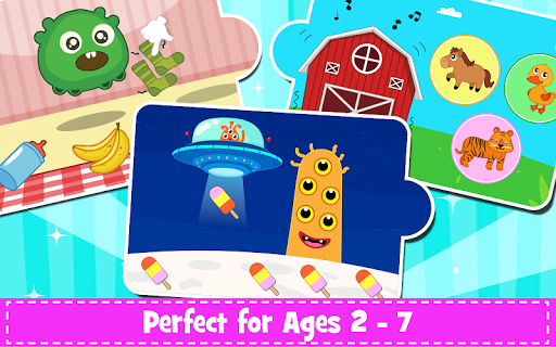 Kids Preschool Learning Games - 150 Toddler games 5.8 Screenshots 14