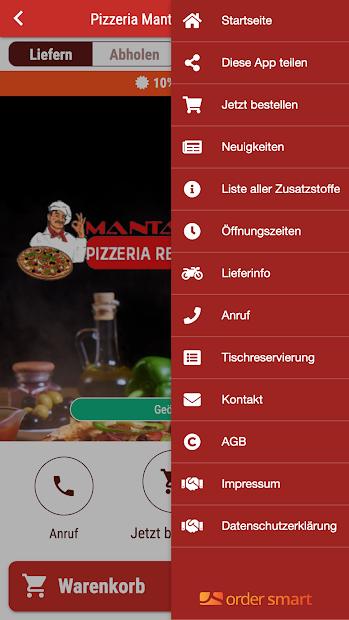 Pizzeria Manta screenshot 2