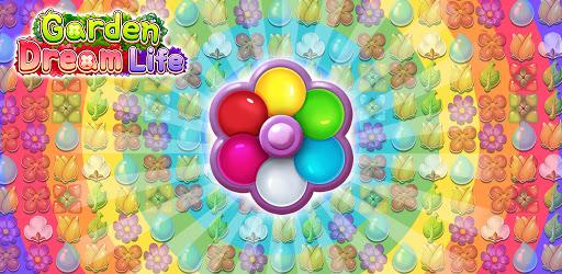 Garden Dream Life: Flower Match 3 Puzzle  screenshots 1