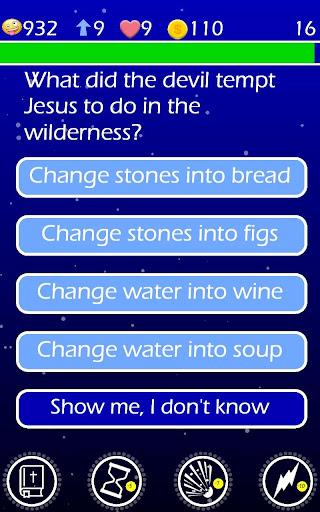Play The Jesus Bible Trivia Challenge Quiz Game screenshots 10