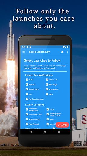 Space Launch Now - Watch SpaceX, NASA, etc...live! apktram screenshots 4