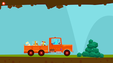 恐竜トラック-子供向けのカーシミュレーターゲームのおすすめ画像4