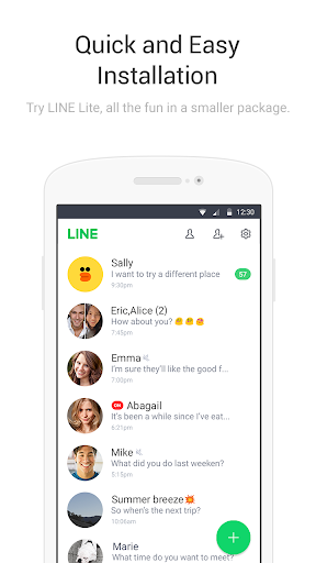 LINE Lite: Free Calls & Messages 2.17.0 Screenshots 5