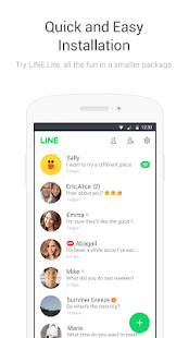 LINE Lite: Free Calls & Messages Screenshot