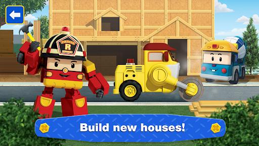 Robocar Poli: Builder! Games for Boys and Girls!  screenshots 4
