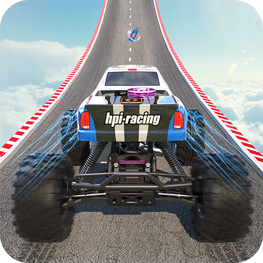 Extreme Monster Truck Stunt:US Monster Racing Game