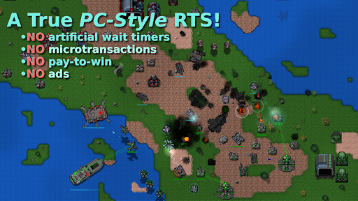 Rusted Warfare - RTS Strategy 1.13.3(b) screenshots 1