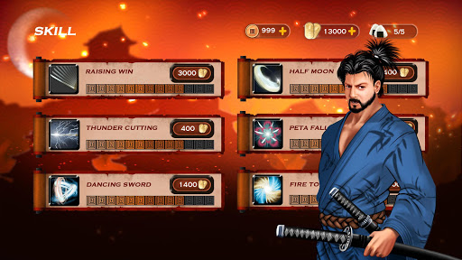 Samurai 3: RPG Action Fighting - Goddess Legend apkpoly screenshots 5